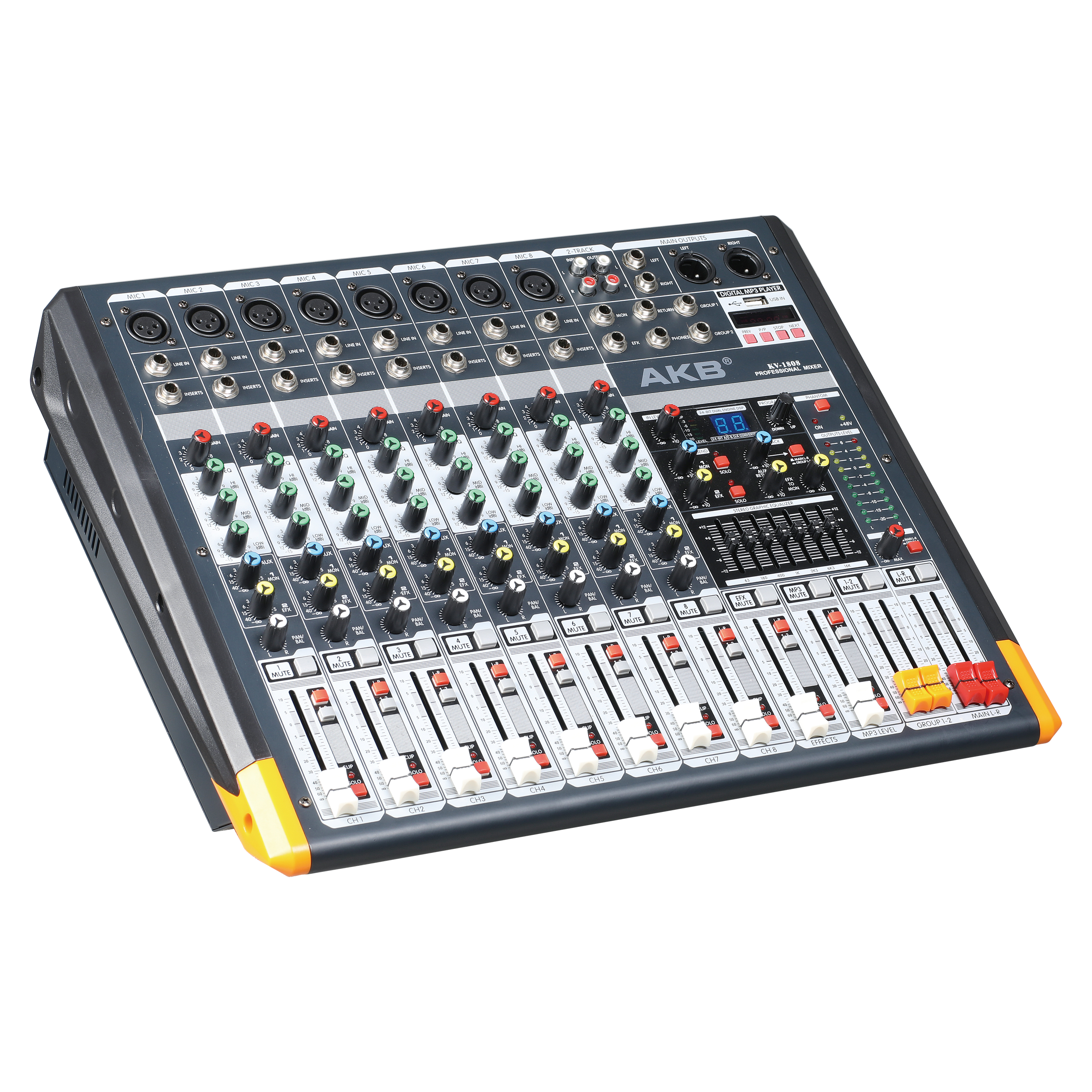 KV-1808 enping professional power mixer