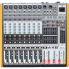 PG-8 professional 8 channel with Double 32 DSP audio mixer