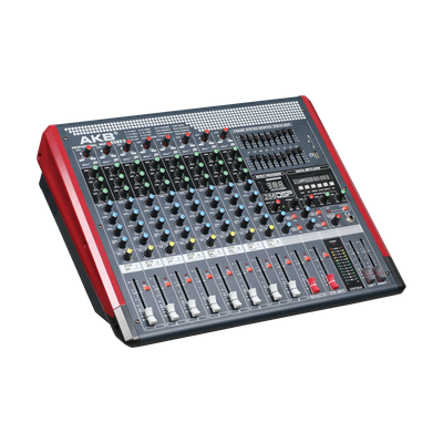 PJS8FX audio mixer console