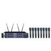 SN-6880 competitive price 8 channels wireless karaoke microphone