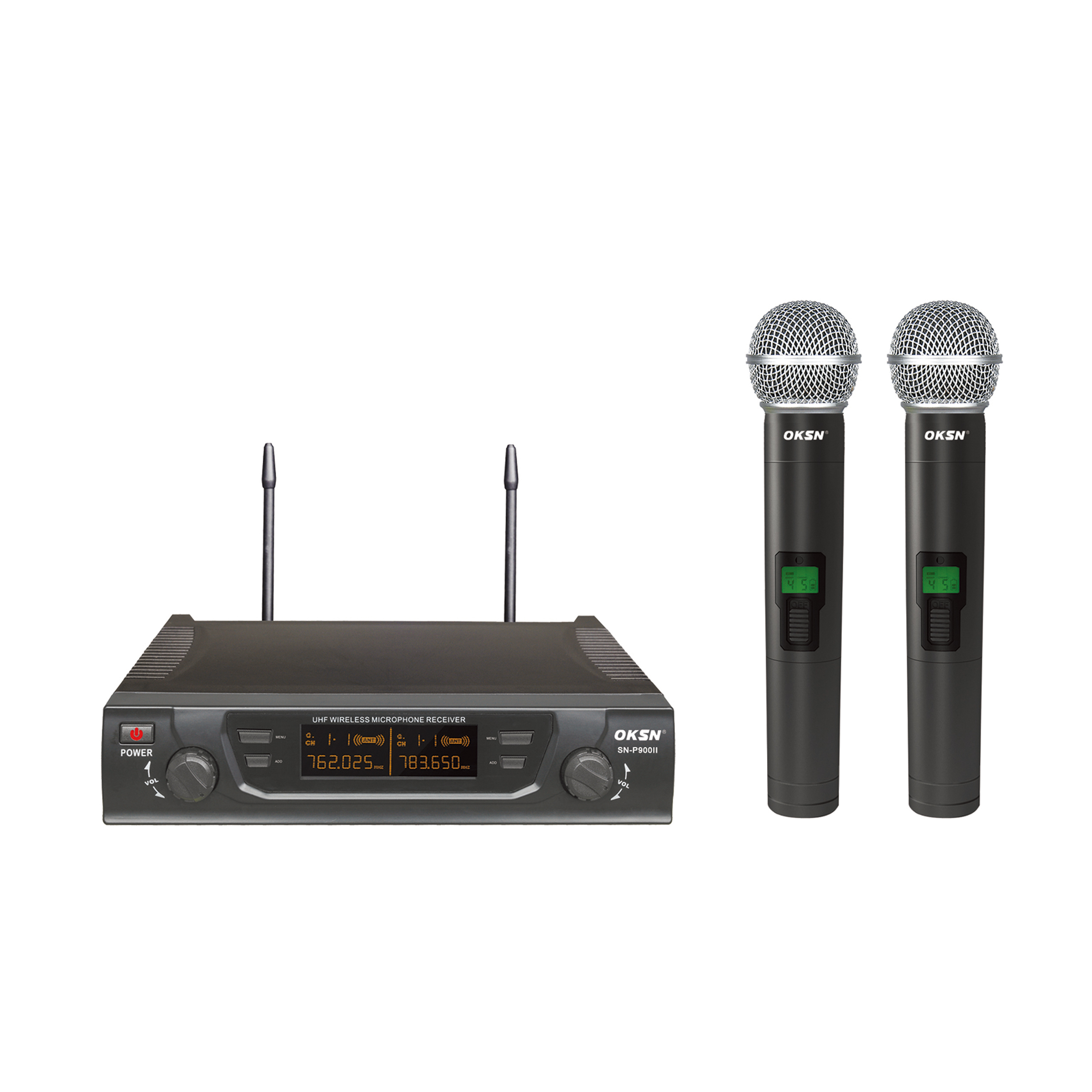 SN-P900Ⅱ Dual Channels Karaoke UHF wireless Microphone system