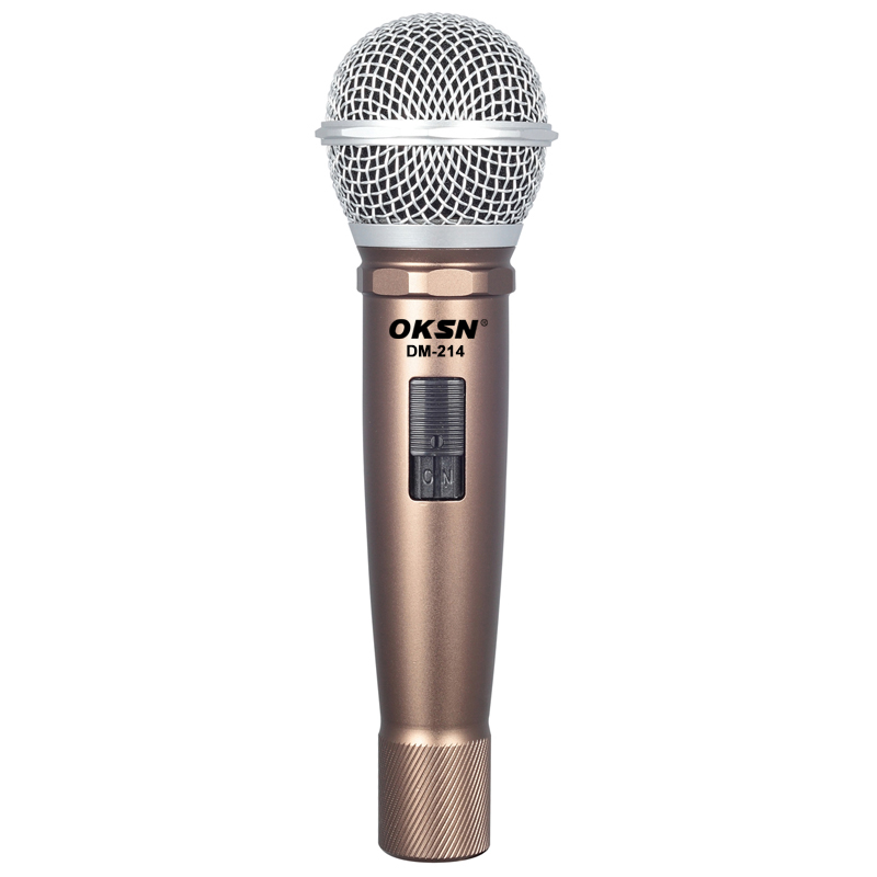 DM-214 Enping factory Wired Microphone handheld dynamic microphone